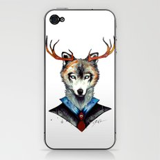 -City Wolf- iPhone & iPod Skin