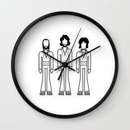 Bee Gees Wall Clock