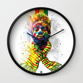 Rise to the occasion Wall Clock