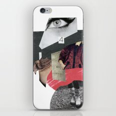 four eyes iPhone & iPod Skin