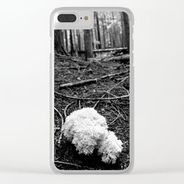 That White Noontide Cloud Clear iPhone Case