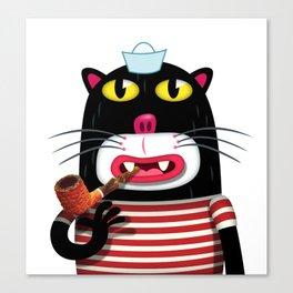 Sailor Kitten Canvas Print
