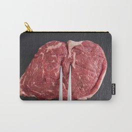 Rib eye steak Carry-All Pouch
