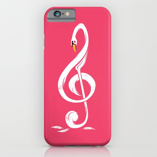 Swan's Melody iPhone & iPod Case