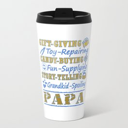 I'M A PROUD PAPA Travel Mug