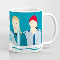movies Mugs featuring Steve's trophy (Faces & Movies) by Alain Bossuyt