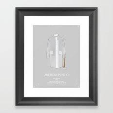 Dress The Part - American Psycho Framed Art Print