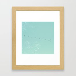 Come Fly with Me Framed Art Print