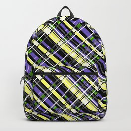 Striped pattern 2 1 Backpack