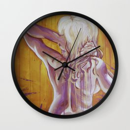 Pink Passion Wall Clock