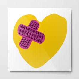 BRKN HEARTS (LL24 EDITION) Metal Print