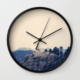 Mountain Bliss Wall Clock