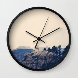 Mountain Bliss Wall Clock