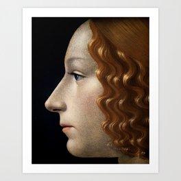 Portrait Art Print Art Print