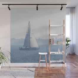 Dreamy Sailboat Wall Mural