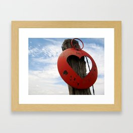 MT Hearts Nikki Framed Art Print