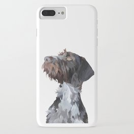 German Wirehaired Pointer iPhone Case