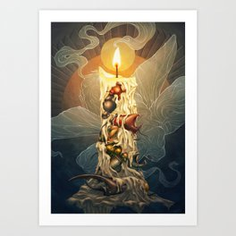 Resurrection Art Print