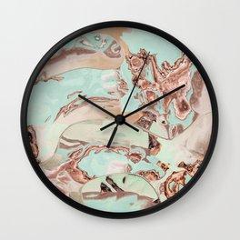 Secrets of the beach Wall Clock