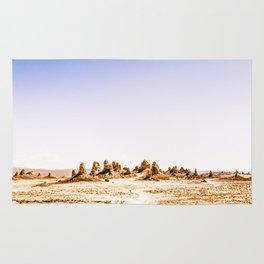 Mystery Planet - Trona Pinnacles Tufa Spires Rug