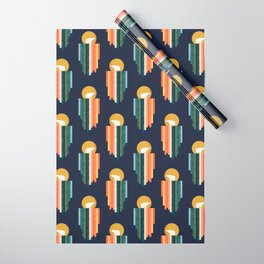Polar bear on ice cream Wrapping Paper