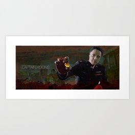 Captain Koons Art Print