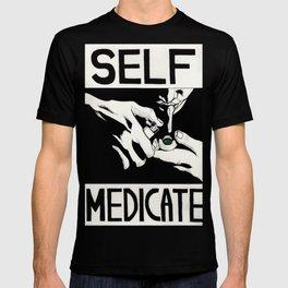 Self-medicate: Smoker T-shirt