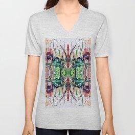 Flowerpower kaleidoscope Unisex V-Neck