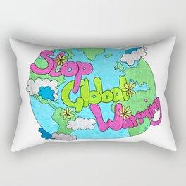 Stop Global Warming Rectangular Pillow