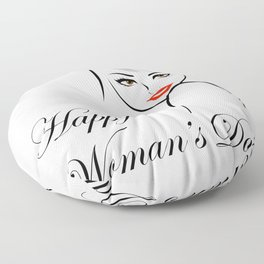 Happy womens day- she persisted gifts Floor Pillow