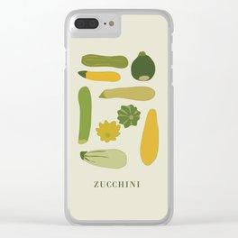 ZUCCHINI Clear iPhone Case