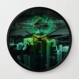 The Last Tree of Life Wall Clock