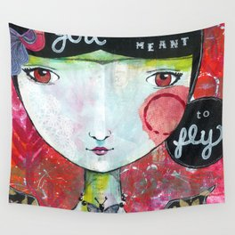 You Were Meant to Fly Wall Tapestry