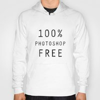 text Hoodies featuring Text by Meredith Mackworth-Praed