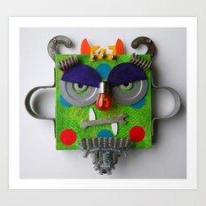 The Monster King Art Print