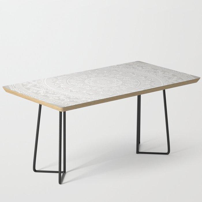 Mandala Soft Gray Coffee Table