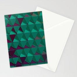 3D Futuristic GEO BG VI Stationery Cards