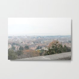 Gianicolo's View  Metal Print