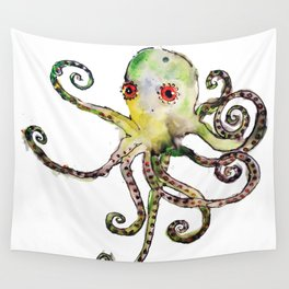 Owen the Octopus Wall Tapestry