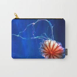 Awesome Gorgeous Exotic Red Jellyfish Close Up Ultra HD Carry-All Pouch