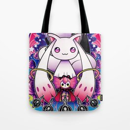 Kyubey and Charlotte Tote Bag