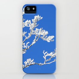 Frosted Branches iPhone Case