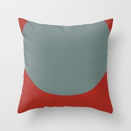 Mid Century Modern Vintage 14 Throw Pillow