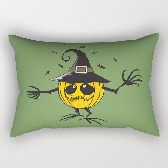 trick or treat/halloween pumpkin Rectangular Pillow