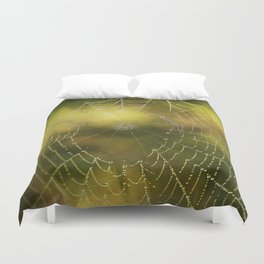 The Web we Weave Duvet Cover
