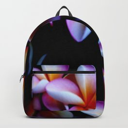 Flowers With a Black Background Backpack