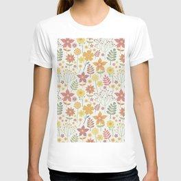little wild flowers T-shirt