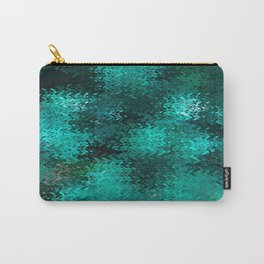 Green Wave Carry-All Pouch