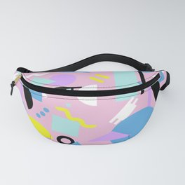 Postmodern Sea ll in Pastel 80's Fanny Pack