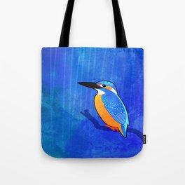 Common Kingfisher (Alcedo atthis) Tote Bag